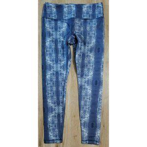 Glyder Womens Blue Tie Dye Leggings Size Small